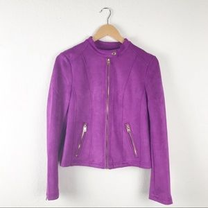 Marc New York Faux Suede Jacket
